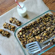 Gluten-Free Cereal Snack Bars {Recipe}