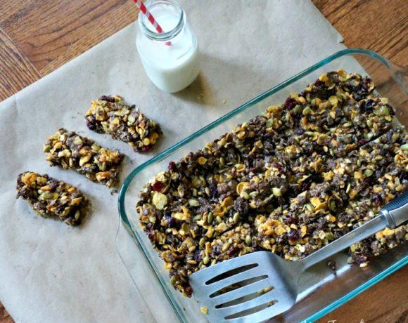 Gluten-Free Cereal Snack Bars {Recipe}