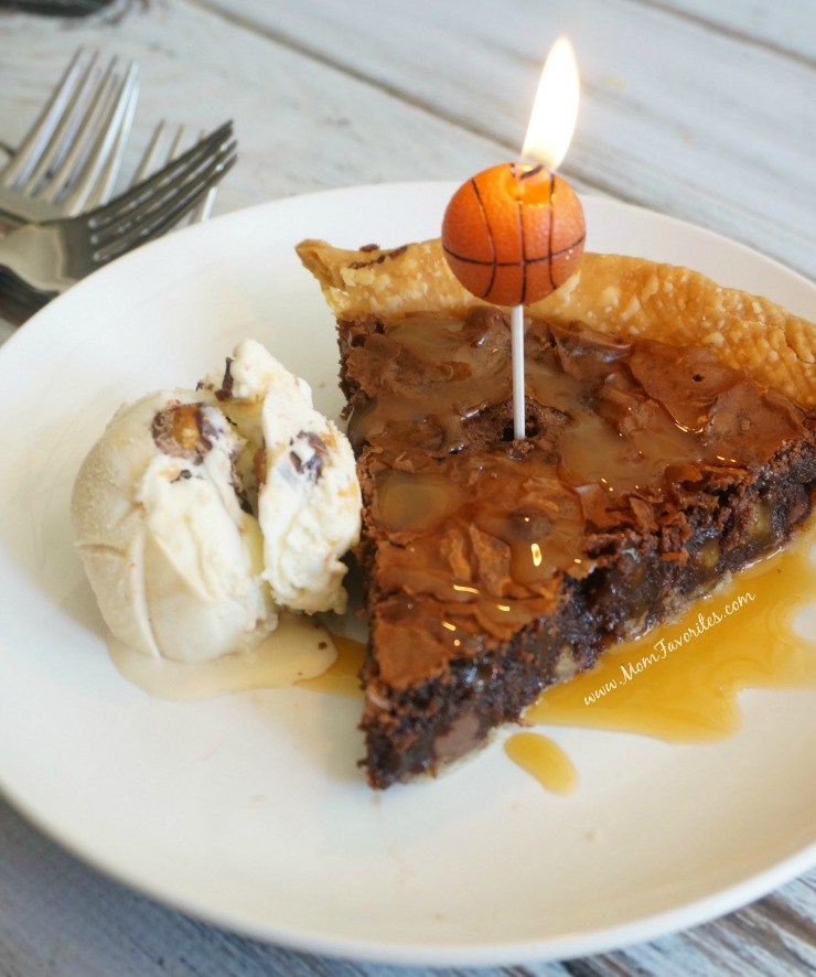 It's game time folks! Celebrate the March Basketball games with Brownie (a.k.a. Tar Heel) Pie. It's so delish, even folks from Durham will dig this recipe.