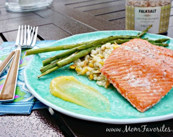 Summer Entertaining Menu: Featuring Grilled Salmon on Himalayan Salt Plates