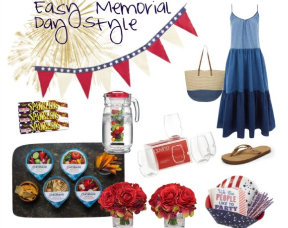 Breezy and Easy Memorial Day Style! Get the look and the apps to shine at any cookout this holiday weekend!