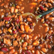 Sweet and Sticky Homemade Baked Beans + Clean Up Tips(!!)
