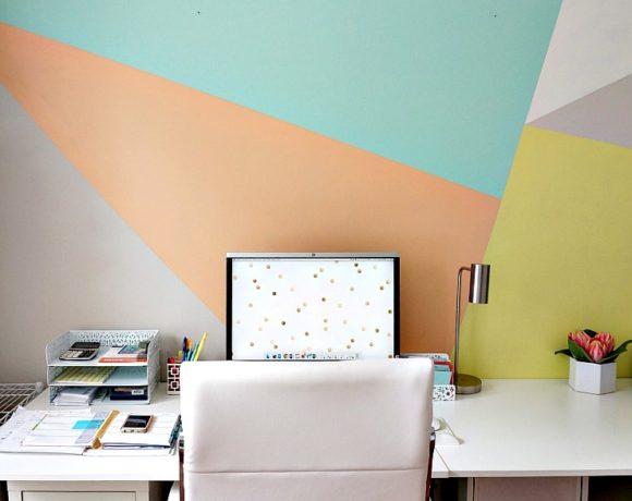 Artfully Modern DIY Accent Wall