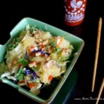 Warm Asian Salad with Eat Smart Gourmet Vegetable Kits + Giveaway!