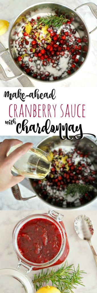 Push the easy-button this holiday season with this Make-Ahead Cranberry Sauce with Chardonnay, plus online grocery shopping and free pickup with the new Walmart Grocery service. $10 coupon included!