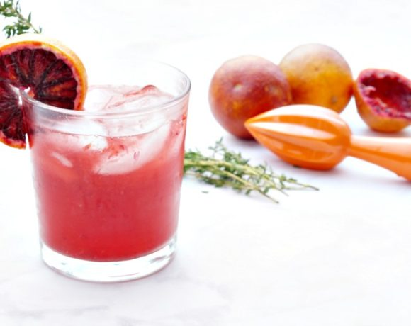 Happy Hour: Blood Orange Campari Cocktail