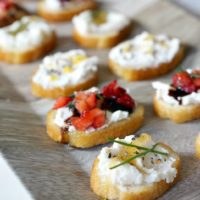 Creative Crostini, Three Ways