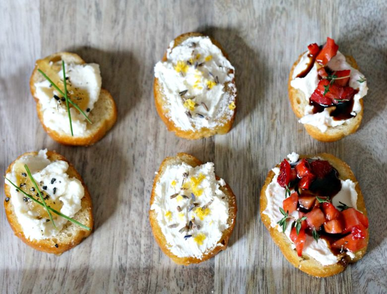 Whether you're gearing up for an Academy Awards themed soiree or just having friends over for a few beers on the weekend, these three creative crostini recipes taste delicious, but are oh-so impressive too! Mix and match your favorites for a winning party appetizer!