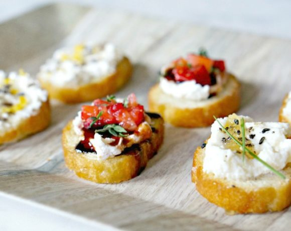 3 Creative Crostini Recipes for Easy Entertaining