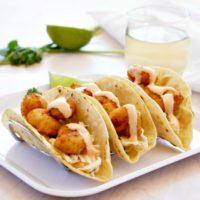 Bang Bang Style Shrimp Tacos