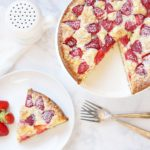 Strawberry White Chocolate Cake: #52WeeksofSweets, Week 4