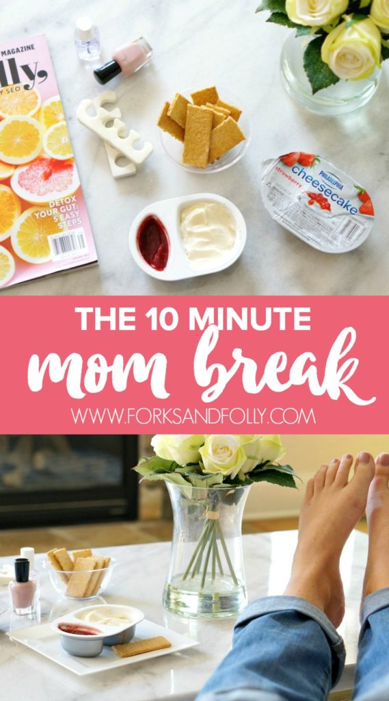 Time out for mom? Yup. When the kids get out of hand, mom gets them out of her hair. It's the ten minute mom break. Put the kids down for a nap or set them in front of the TV, and make time for YOU with this simple sanity saver.