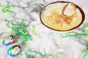 What makes a Cadbury Creme Egg better? By turning it into a martini. Have your dessert and drink it too this spring season by serving this Cadbury Creme Egg Martini recipe on your Easter menu!