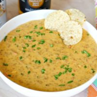 Spicy Beer Queso with Chorizo