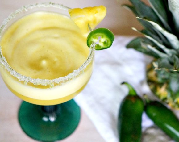 Spicy Pineapple Margarita: Cinco de Mayo Cocktail Recipe