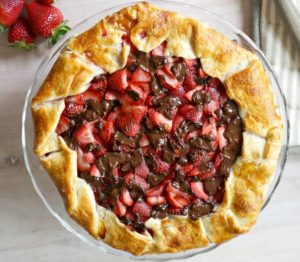 Get carried away picking strawberries? Use up your berry goodness in this beautiful and easy-to-make Strawberry Galette with Dark Chocolate recipe, the perfect spring and summer dessert.