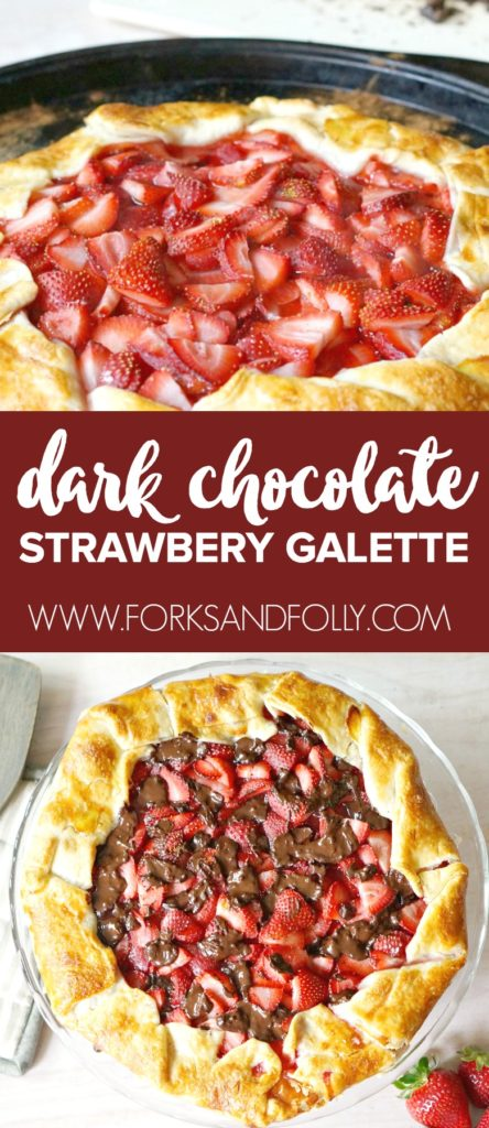 Strawberry Galette with Dark Chocolate 12