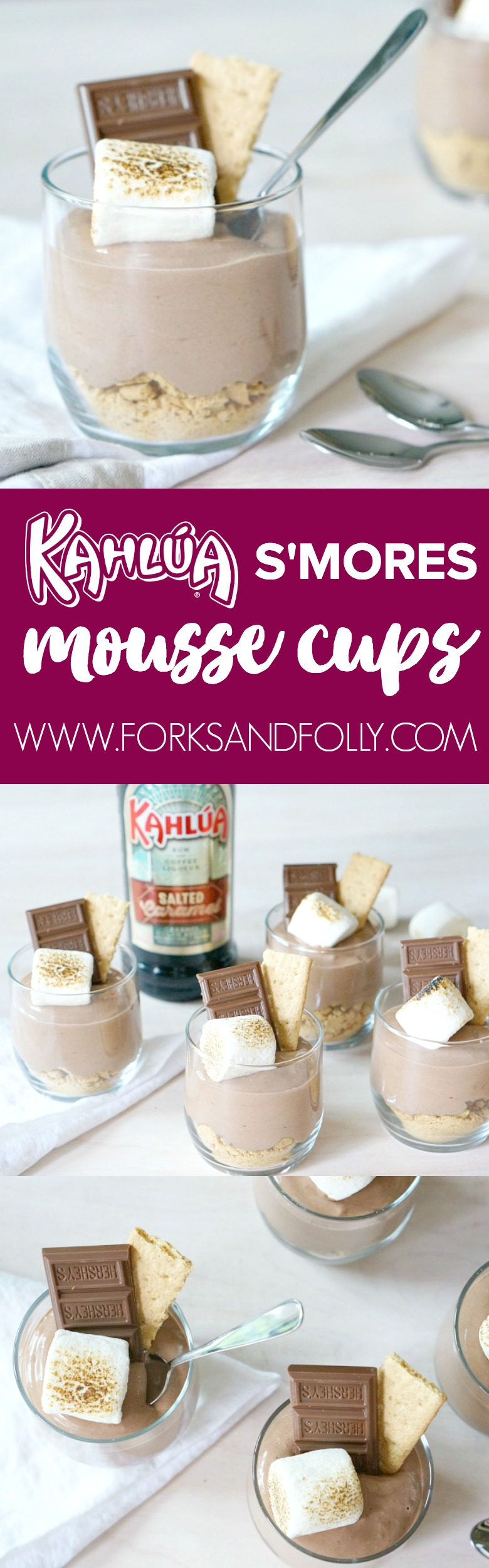 Kahlua S'mores Mousse Cups: #52WeeksofSweets, Week 15 ...