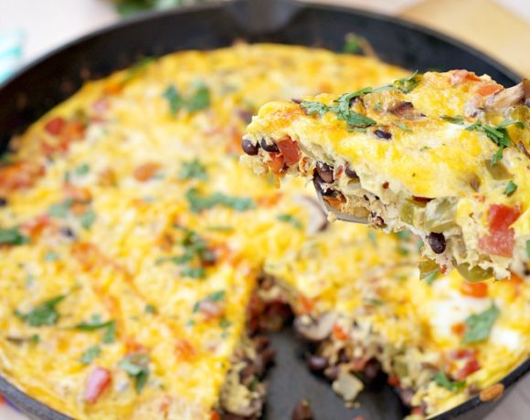 Spicy Southwest Frittata