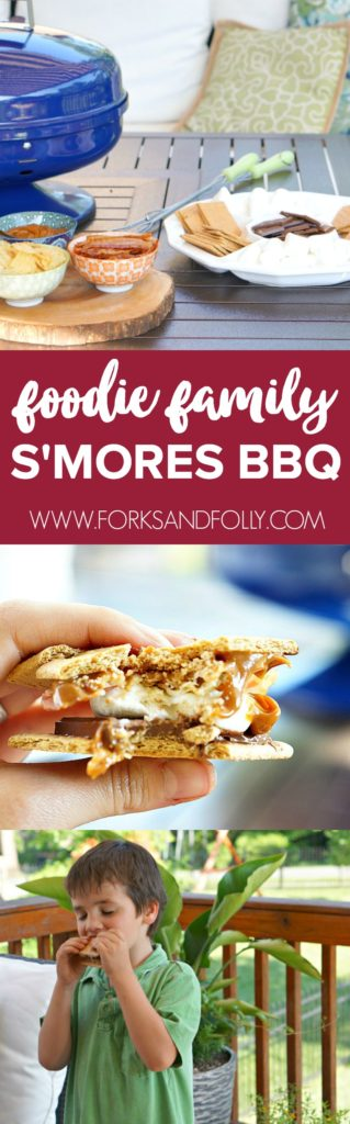 You don't need to do much to s'mores to have a delicious treat. But, when you can. why not add extra crunch and the perfect salty-sweet combo?!? That's right, folks. We're making the Ultimate S'mores BBQ, perfect for foodies of all ages!