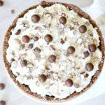 No-Bake Whoppers Pie: #52WeeksofSweets, Week 14