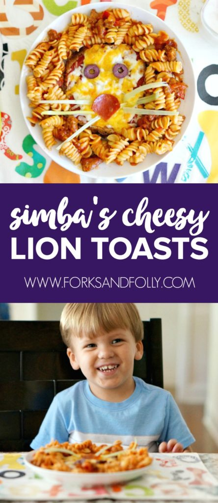 Get ready for some roars with Simba's Cheesy Lion Toasts. Perfect for a snack after watching Disney Junior's The Lion Guard, with episode premiers on Fridays throughout the summer. Part of the popular Forks and Folly Kitchen Stories Series.