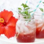 Hibiscus Strawberry Sparkler for Summer Sipping