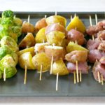 Four Ingredient Pork Kabob Dinner