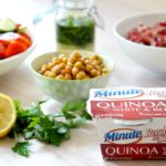 Quinoa and Veggie Mediterranean Lunch Bowl