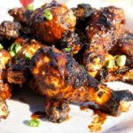 Grilled Sweet & Spicy Dr Pepper Chicken Wings