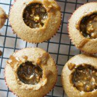 Pumpkin Pecan Pie Cupcakes