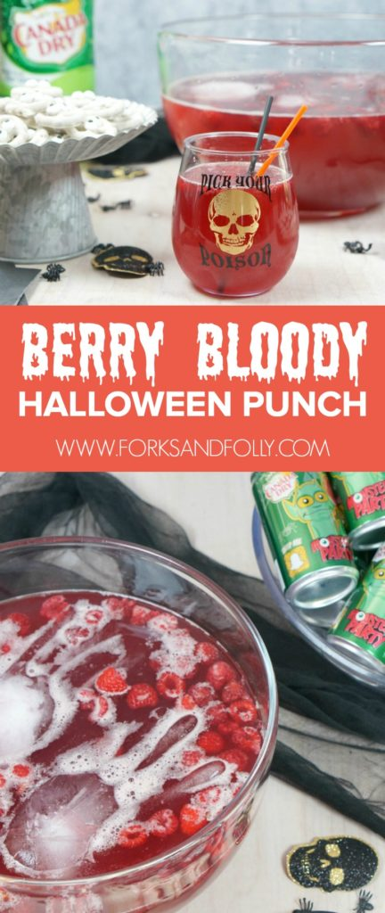 Get the tips for hosting an easy peasy trick-or-treating shindig for your crew.  Our Halloween party complete with Berry Bloody Halloween Punch and Spooky Treats, has something for all to enjoy!
