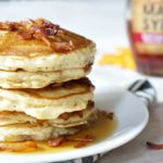 Maple Bacon Pancakes. Maple. Bacon.