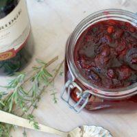 Sangria Cranberry Sauce