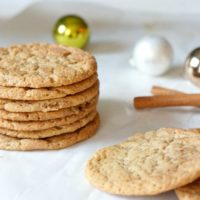Chewy Maple Snickerdoodles