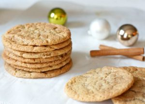 Our Updated Chewy Maple Snickerdoodles have the same great classic flavor of the original, with a crispier edge and chewier center.  The maple syrup addition adds a subtle sweetness and a great golden color!