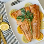 Simple and Elegant Citrus Butter Salmon