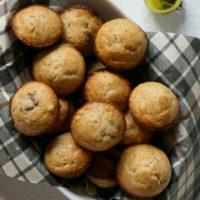 Mini Mocha Chocolate Chip Muffins