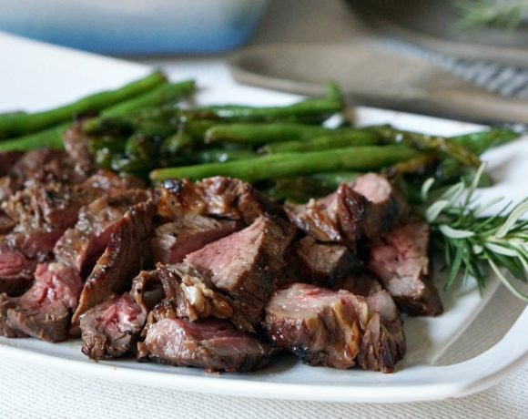 Grilled Soy Pepper Beef Tenderloin