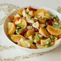 Winter Citrus Salad with Poppyseed Dressing