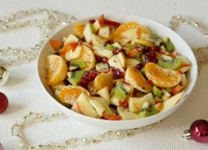 Winter Citrus Salad: Enjoy a classic holiday brunch menu, equally impressive and delicious... not to mention, deceptively easy!  Perfect for a post-present opening soiree!