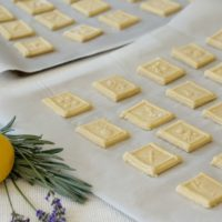Lemon Springerle Cookies