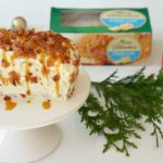 Cream Cheese Pound Cake with Bacon Sprinkles: #52WeeksofSweets, Week 31