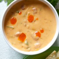 Slow Cooker Spicy Beer Queso