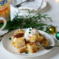 Overnight Sugar Cookie French Toast Casserole