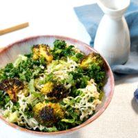 Broccoli and Kale Ramen Salad