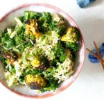 #HealthyNotHealthy Broccoli and Kale Ramen Salad