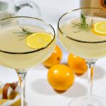 Meyer Lemon Vodka Fizz: Winter Seasonal Cocktail