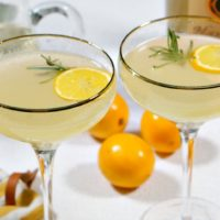 Meyer Lemon Vodka Fizz