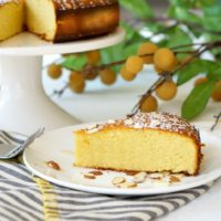 Pichuberry Cake with Almonds